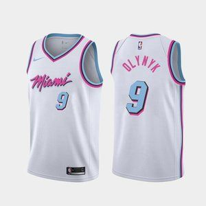 Men's Miami Heat Kelly Olynyk Jersey